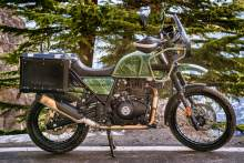 Royal Enfield 2021 Himalayan Pine Green